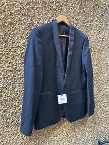 ASOS Black BNWT Mens Blazer Jacket SIZE 40 REGULAR NEW