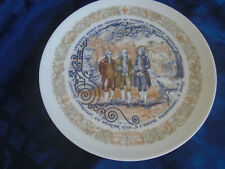 Marquis de Lafayette Legacy plate - French/American history