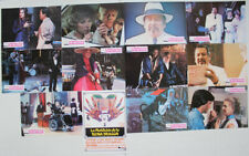 Peter Ustinov Charlie Chan Spanish lobby card set Lee Grant Brian Keith