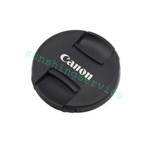 52mm For EF EFS EF-M Lens Canon Snap On Lens Cap Cover black protector 1PCS