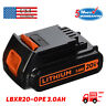LBXR20 3.0AH 20V for Black & Decker MAX Lithium Battery PACK LBXR2020-OPE LDX220