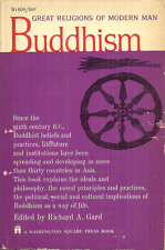Buddhism - Great Religions Of Modern Man Richard Gard editor - Ancient & Modern