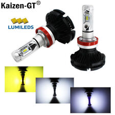 High Power DIY 3-Colors LED Headlight Bulbs - H11 H8 H9 - Powered By Luxen LED