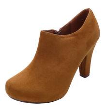 Botas de mujer marrones sin marca, talla 37