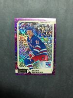 2018-19 O Pee Chee Platinum Violet Pixels # 142 Mark Messier OPC