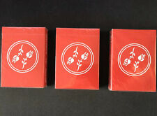 Black Roses Red x3 Playing Cards