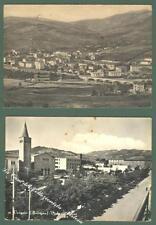 Emilia Romagna. VERGATO, Bologna. Due cartoline d'epoca viaggiate.