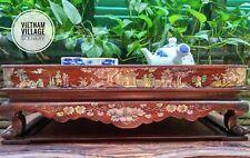 Vietnamese Hand Made  Pearl Mosaic Tea Tray
