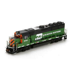 Athearn 77888 HO Burlington Northern GP50 Phase II Tiger Stripe #3158 LN/Box