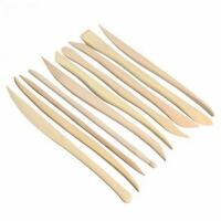 10pcs durable Wood Pottery Modeling BoxWood Sculpey Sculpture Clay Tools DIY
