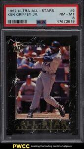 1992 Ultra All-Stars Ken Griffey Jr. #6 PSA 8 NM-MT