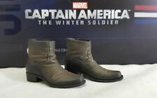 Genuine 1:6 Hot Toys MMS243 Captain America Winter Soldier Steve Rogers shoes