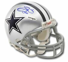 Emmitt Smith Hand Signed Autographed Riddell Mini Helmet Dallas Cowboys UDA