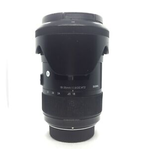 Sigma 18-35mm f/1.8 HSM | Nikon F Mount