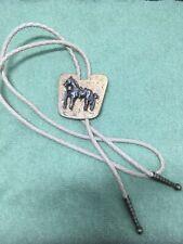 Tie-Metal Horse Bolo