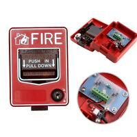 Fire Alarm Pull Station Addressable Single Action new SALE U7Q6