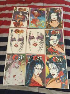 Shi Massive Collection Lot 58 comics! Bill Tucci Marc Silvestri New Mint!