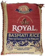 Royal Basmati white Rice Premium Aged 20 Lb. Free Shipping