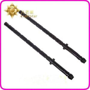 Avengers Infinity War Black Widow Electric Staff Weapon Baton Stick Cosplay Prop