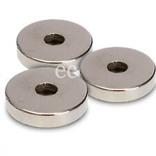 Neodymium Disc Magnet With Hole 10mm x 3mm With 3mm Hole Rare Earth Disc (5pcs)
