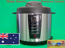 Midea Multi-Function Automatic Electric Pressure Cooker MY-WCS603 6L Brand New
