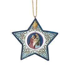 Jim Shore*STAR SHAPED HOLY FAMILY NATIVITY ORNAMENT*New 2018*Christmas*6001521
