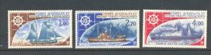 French Southern Antarctic Territories 1976 SG 104-6  Ships MH