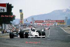 Alan Jones Williams FW06 French Grand Prix 1978 Photograph 1