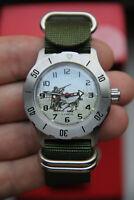 NEW Watch mechanical VOSTOK HUNTER Waterproof Shockproof MADE in RUSSIA №1