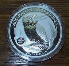 2012 *DRAGON PRIVY* AUSTRALIA KOOKABURRA 1 oz SILVER COIN *BU* Only 80k minted!