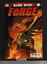 DARK DAYS THE FORGE #1 NM UNREAD NEW KUBERT VARIANT BATMAN WHO LAUGHS RED DEATH