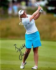 BRITTANY LINCICOME signed 8x10 photo GOLF b