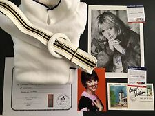 Laverne & Shirley Prop Dress Signed Penny Marshall / Cindy Williams PSA COA LOT