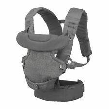 Infantino Flip Advanced 4-in-1 Convertible Baby Carrier - Light Grey