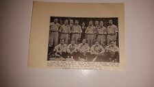 Girard College St. Francis College Loretto PA 1911 Baseball Team Picture SP RARE