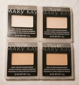 Mary Kay Sheer Mineral Pressed Powder -You Choose*4 Shades FREE SHIPPING!