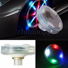 4pcs Car Bike Motorcycle LED Flash Solar Wheel Tire Tyre Valve Cap Light 4 Color