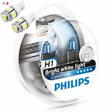 Philips Crystal Vision H1 Twin - 2 free LED T10/W5W