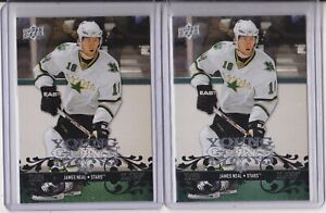 08-09 Upper Deck James Neal Young Guns Rookie Lot Of 2 Oilers RC 2008
