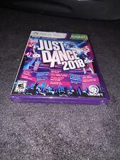 Just Dance 2018 (Microsoft Xbox 360, Brand New Sealed