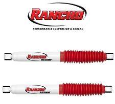 NEW Dodge Dakota Durango 4WD Pair Set of Rear Shock Absorbers w/ 0?Lift Rancho