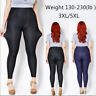 Women Plus Size 3XL 5XL Cotton Imitation Jean Soft Elastic Fashion Legging Pants