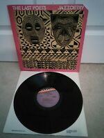 "The Last Poets ‎– Jazzoetry Vinyl 12"" LP US Import Jazz Poetry Album 1976"