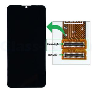 """OEM ZTE Blade A7s 2020 A7010 TFT 6.5"""" LCD Screen Digitizer Round Flex Socket"""