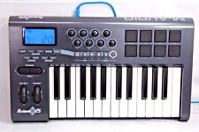 M-Audio Axiom 25 25-Key USB MIDI Keyboard Controller Tested Working Free Ship