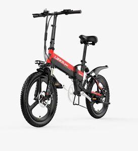 """Lankeleisi ®  G550 20"""" wheel Folding e-Bike"""