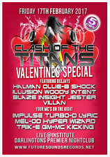CLASH OF THE TITANS  Valentines Special 2017