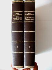 JOHN GRAND-CARTERET : LA MONTAGNE A TRAVERS LES ÂGES 1 & 2 ¤ SLATKINE ¤ 1983 N°