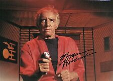OFFICIAL WEBSITE Morgan Woodward STAR TREK (1966) 8x10 Glossy Photo AUTOGRAPHED