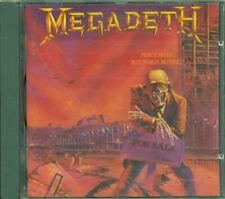 Megadeth - Peace Sells… But Who'S Buying? (Dave Mustaine) Combat Uk Cd Ottimo